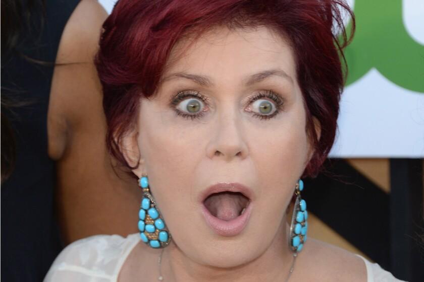 """Sharon Osbourne revealed a secret fling on """"The Talk."""""""