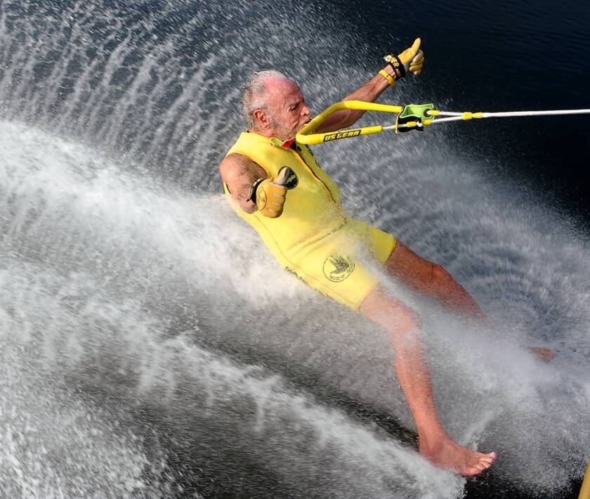 'Banana' George Blair dies at 98; water skier with a thing for yellow