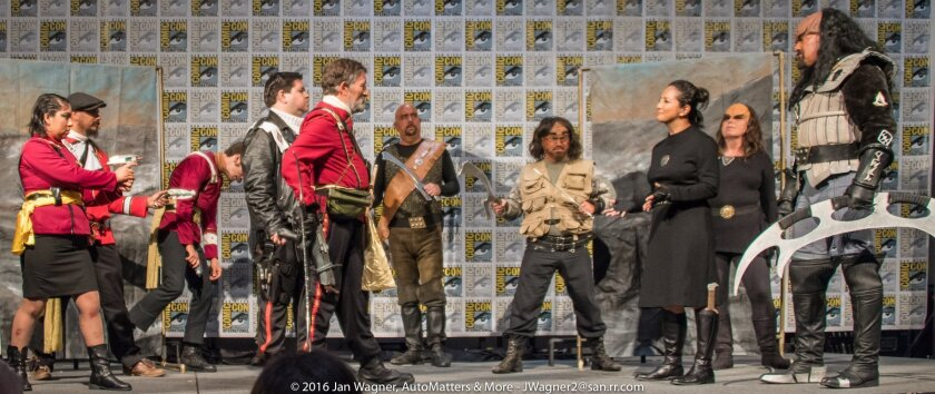 Stranglehold Klingons stage play at Comic-Con