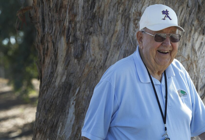 Bill Whittaker, 85, has worked for San Diego's Parks & Recreation Department for 66 years. He mainly works at Morley Field and has a Little League baseball diamond named after him. He's a High School Coaching Legend honored at the Hall of Champions.
