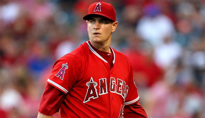 Angels ace Garrett Richards has not pitched since May 1.