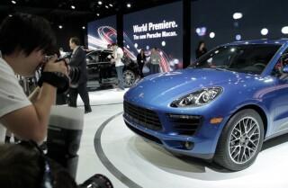 2013 LA Auto Show: Porsche Macan