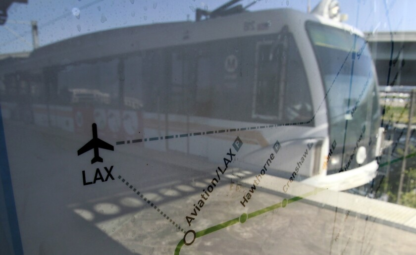 Train to LAX