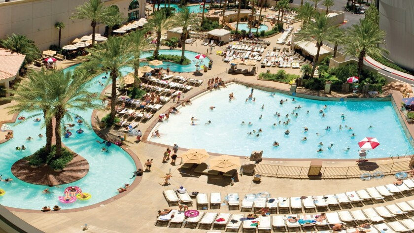 The swimming pool at Monte Carlo will close October 3, but hotel guests will be able to use pools at other MGM Resorts properties along the Strip.