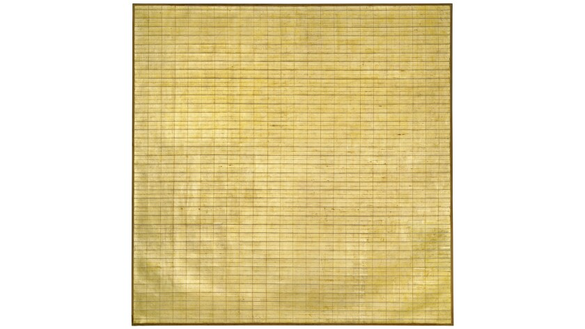 Friendship, 1963, by Agnes Martin