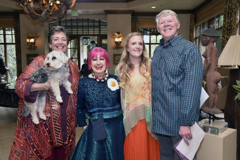 'Wiggles and Waggles' fashion show luncheon