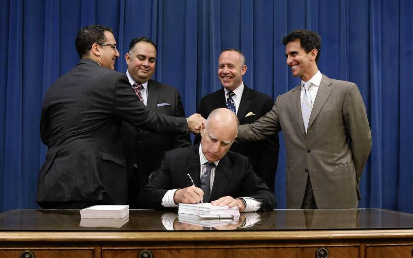 Gov. Jerry Brown signs budget with few changes — or complaints