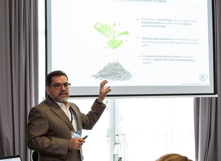 El director de la empresa mexicana de biotecnología Bioteksa participa en la Cumbre Internacional de Biotecnología hoy, martes 12 de junio de 2018, en París (Francia). EFE