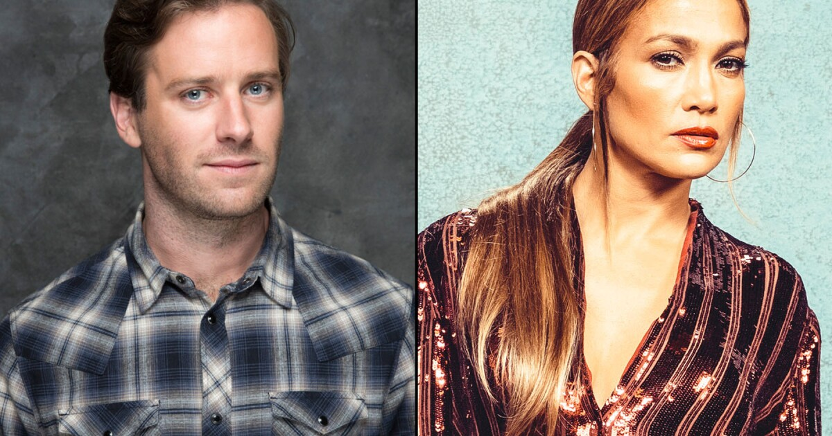 Armie Hammer calls online attacks 'spurious,' will still exit Jennifer Lopez rom-com