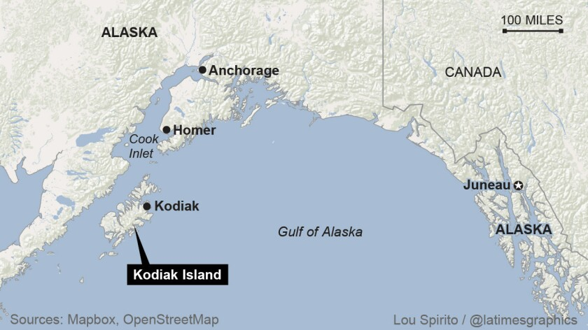 Kodiak Island might not fit your typical image of Alaska ... on map of portsmouth island, map of richmond island, map of atka island, map of jackson island, map of st. paul island, map of aleutian islands, map of pribilof islands, map of raspberry island, map of wrangel island, map of faial island, map of whale island, map of shelikof strait, map of arctic national wildlife refuge, map of bremerton island, map of seward peninsula, map of prince of wales, map of ketchikan island, map of wrangell island, map of door peninsula, map of sitkalidak island,