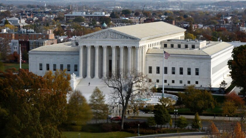 The Supreme Court in Washington on Nov. 15, 2016.