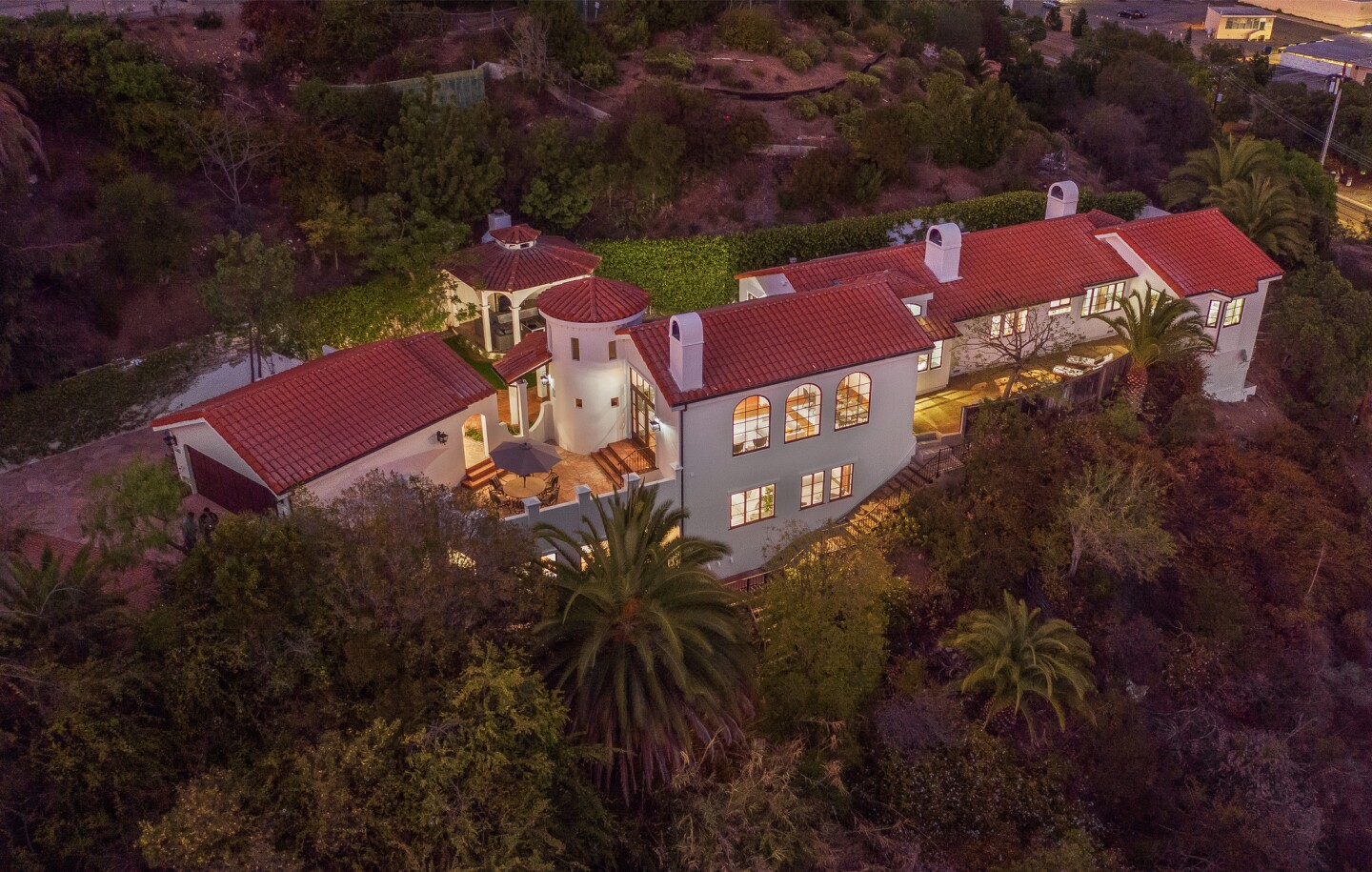 Spanish home in the Palisades