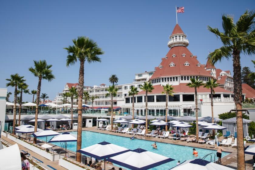 Hotel del Coronado's new Cabana Pool.