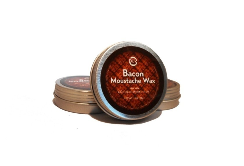 J&D's Foods Bacon Moustache Wax