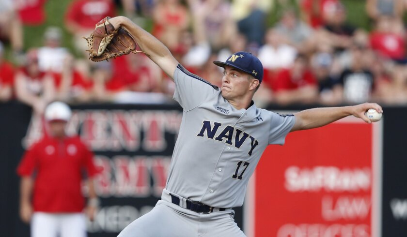 538b069262811 Ex-Navy pitcher lives baseball dream - The San Diego Union-Tribune