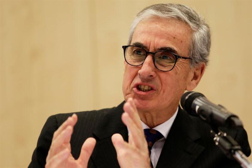 En la imagen, el eurodiputado español Ramón Jáuregui. EFE/Archivo