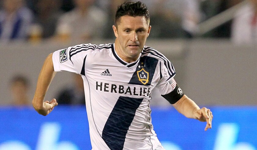 Galaxy forward Robbie Keane, shown during a game at StubHub Center, had a chance to tie the score against the Rapids but was wide on a penalty kick.