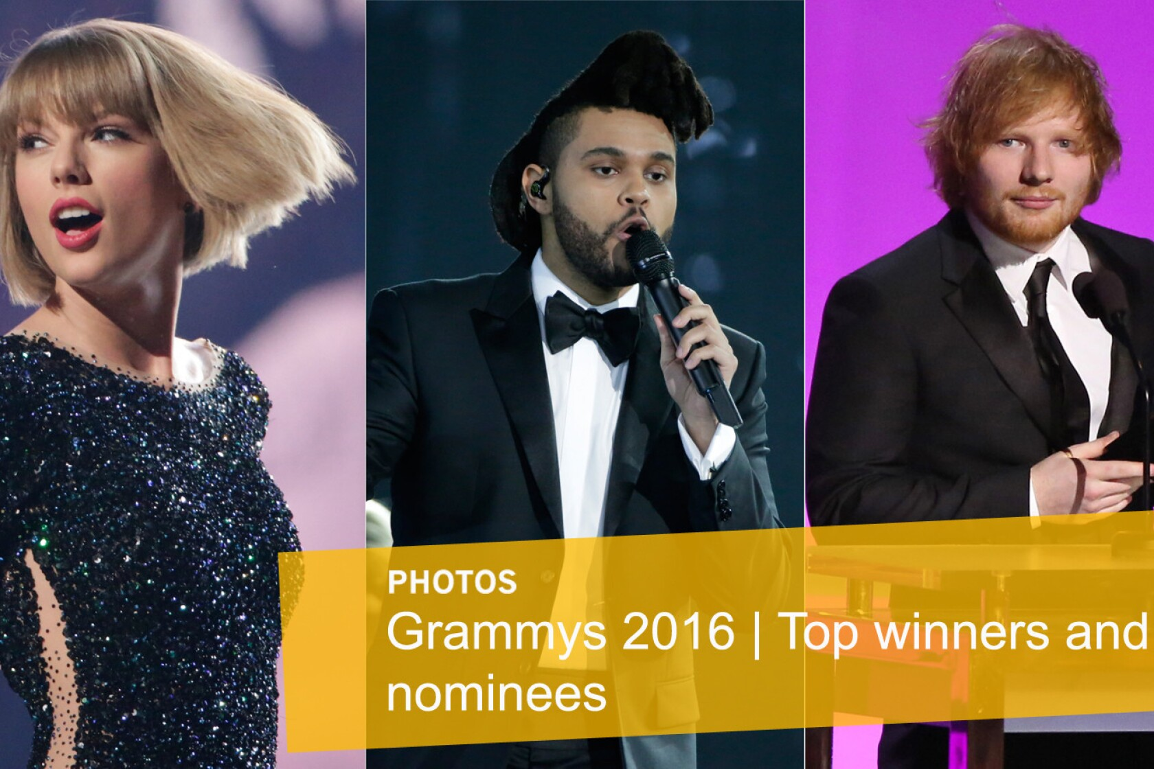 fea42b1501 2016 Grammy Awards: Complete list of winners and nominees - Los ...