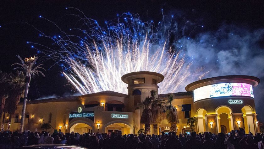 Desert heats up with new casino hotels, expansions - The San Diego