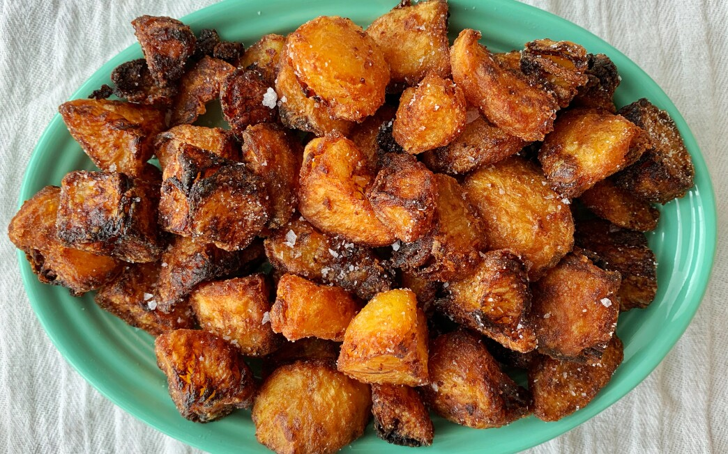 Perfect English Roast Potatoes Recipe Los Angeles Times