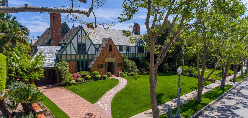 Francis Ford Coppola's former Hancock Park Tudor