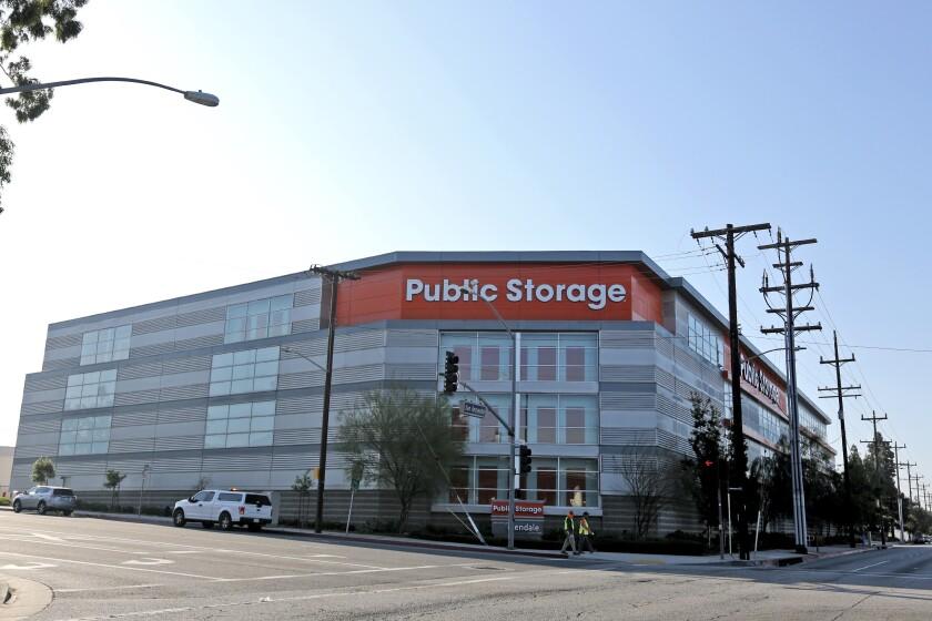 A Public Storage site in Glendale.