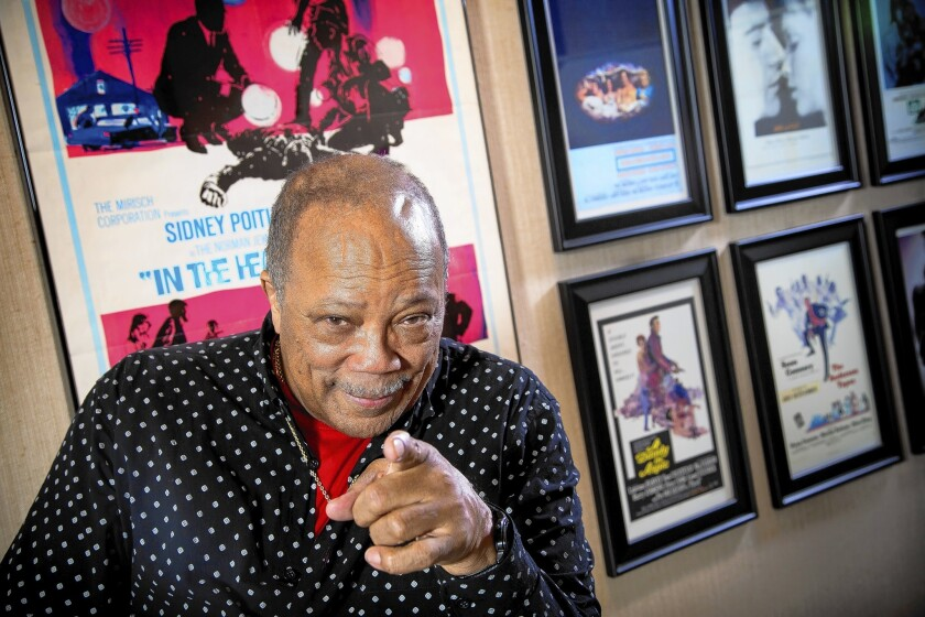 Quincy Jones will discuss composing for film at the TCM Classic Film Festival.
