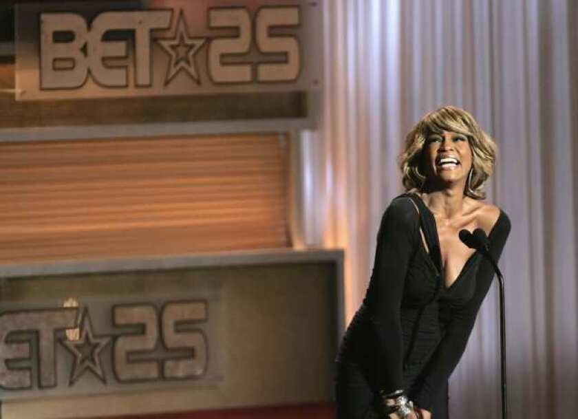 Whitney Houston will join the Rock and Roll Hall of Fame in May along with the Notorious B.I.G., Nine Inch Nails, T. Rex, the Doobie Brothers and Depeche Mode.