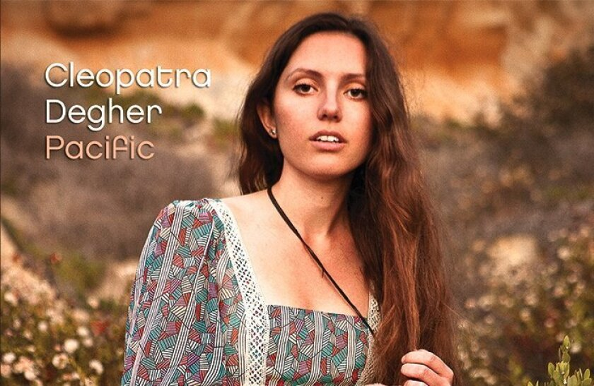 Cleopatra Degher is holding a launch party for her new album, 'Pacific,' from 4-6 p.m. Sunday, Sept. 14, at Ducky Waddle's Emporium in Encinitas.