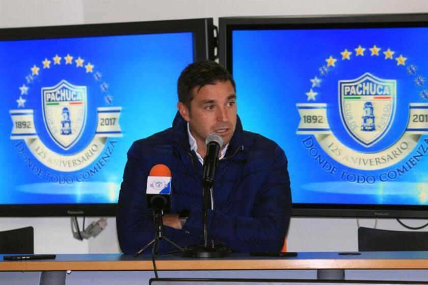El director técnico del Pachuca, Diego Alonso. EFE/Archivo