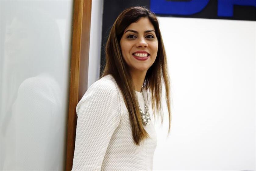 La secretaria del Departamento de Recreación y Deportes (DRD) de Puerto Rico, Adriana Sánchez. EFE/Archivo