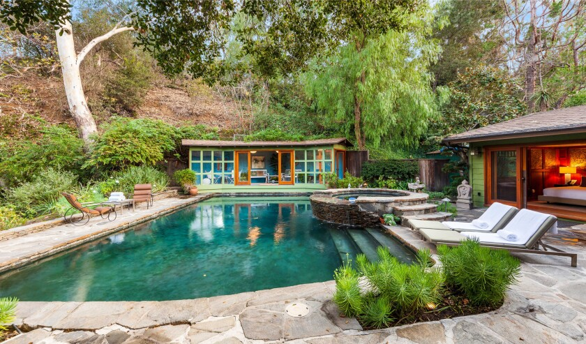 Lucy Liu's Studio City home