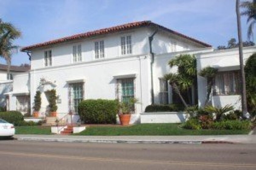 Darlington House, at 7441 Olivetas Ave. in La Jolla, is home to the musicales.