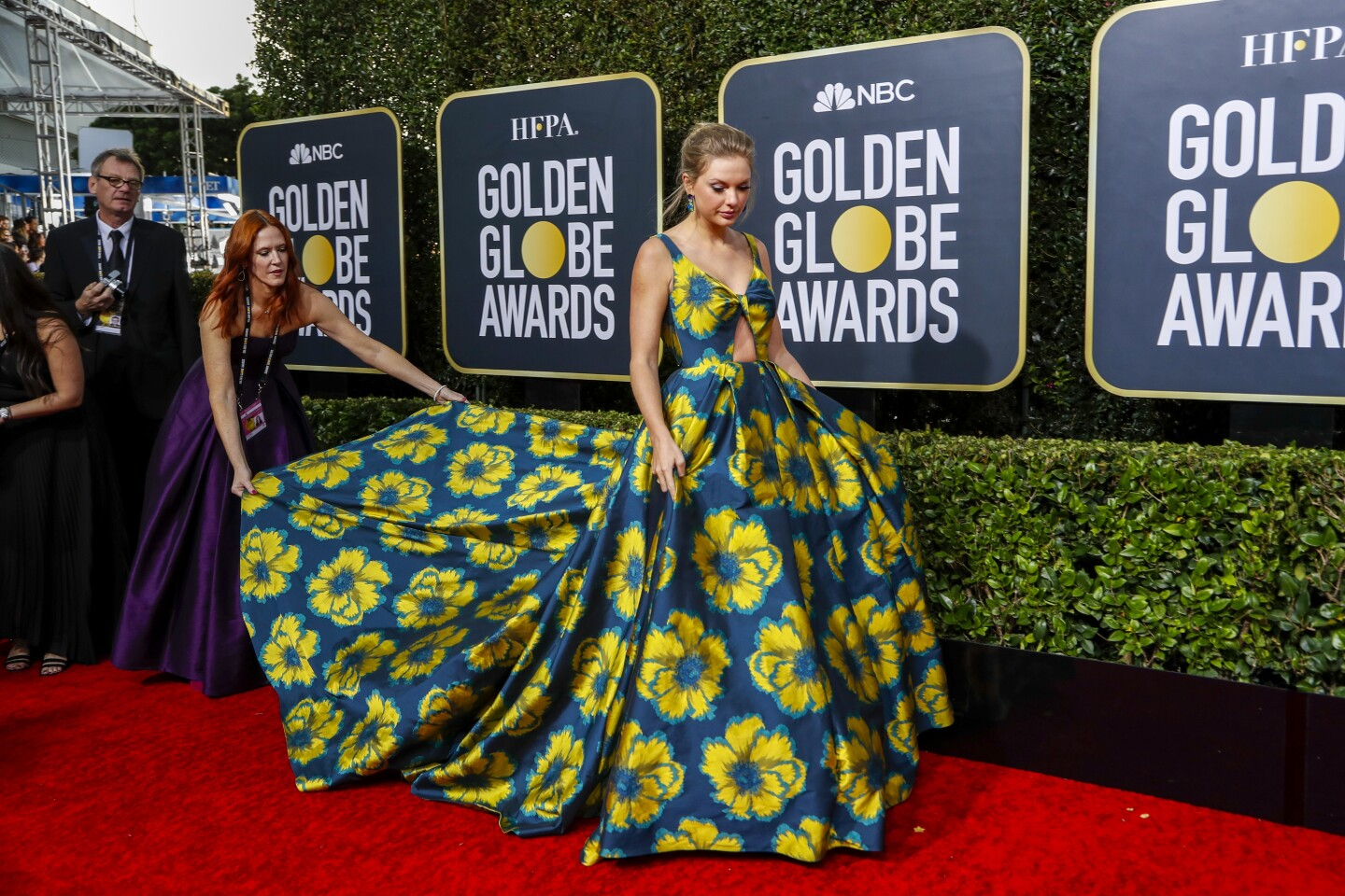 2020 Golden Globes Red Carpet Photos Los Angeles Times