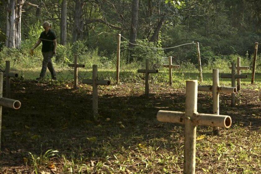 Florida bodies exhumed