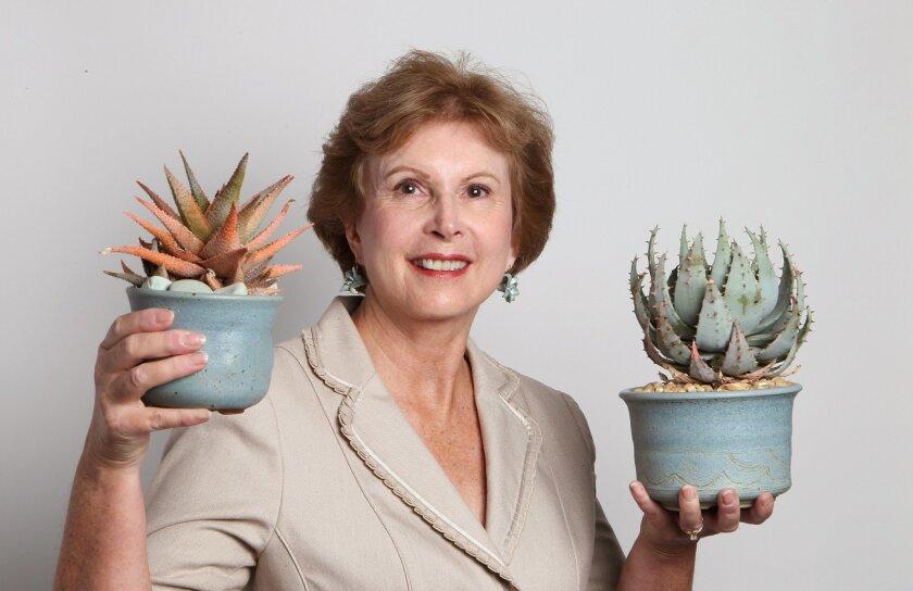 Portrait of Debra Lee Baldwin, gardening expert and author.