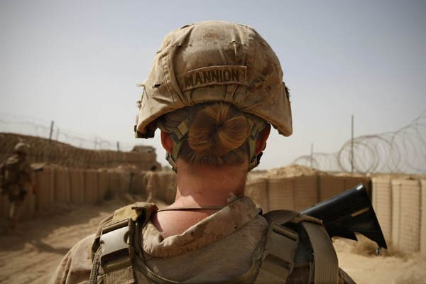 Female Marines a new weapon in Afghanistan