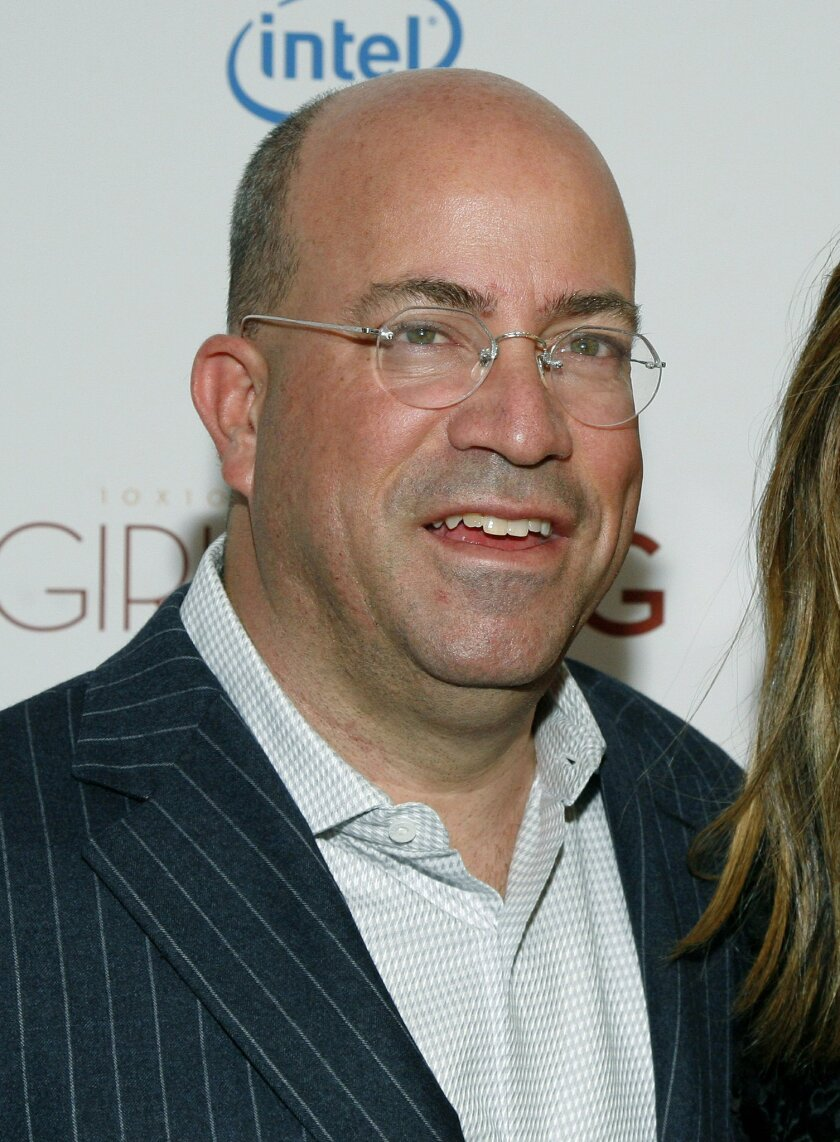 """FILE - In this March 6, 2013 file photo, President of CNN Worldwide Jeff Zucker attends a screening of """"Girls Rising"""" at the Paris Theater in New York. Fox News chairman Roger Ailes, never one to miss the chance to bait an adversary, told The Hollywood Reporter in January 2014 that CNN had decided """"to throw in the towel and announce they're out of the news business."""" Zucker, beginning his second year in the job, begged to differ. """"CNN is not and never will abandon our first and fundamental brand equity, which is news and breaking news,"""" he told reporters. (Photo by Andy Kropa/Invision/AP, file)"""