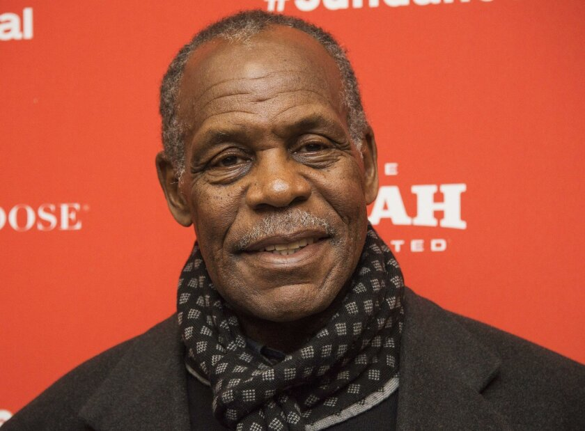 Actor Danny Glover, shown at the Sundance Film Festival last month, is the scheduled speaker at UC San Diego's Black History Month Scholarship Brunch on Feb. 27.