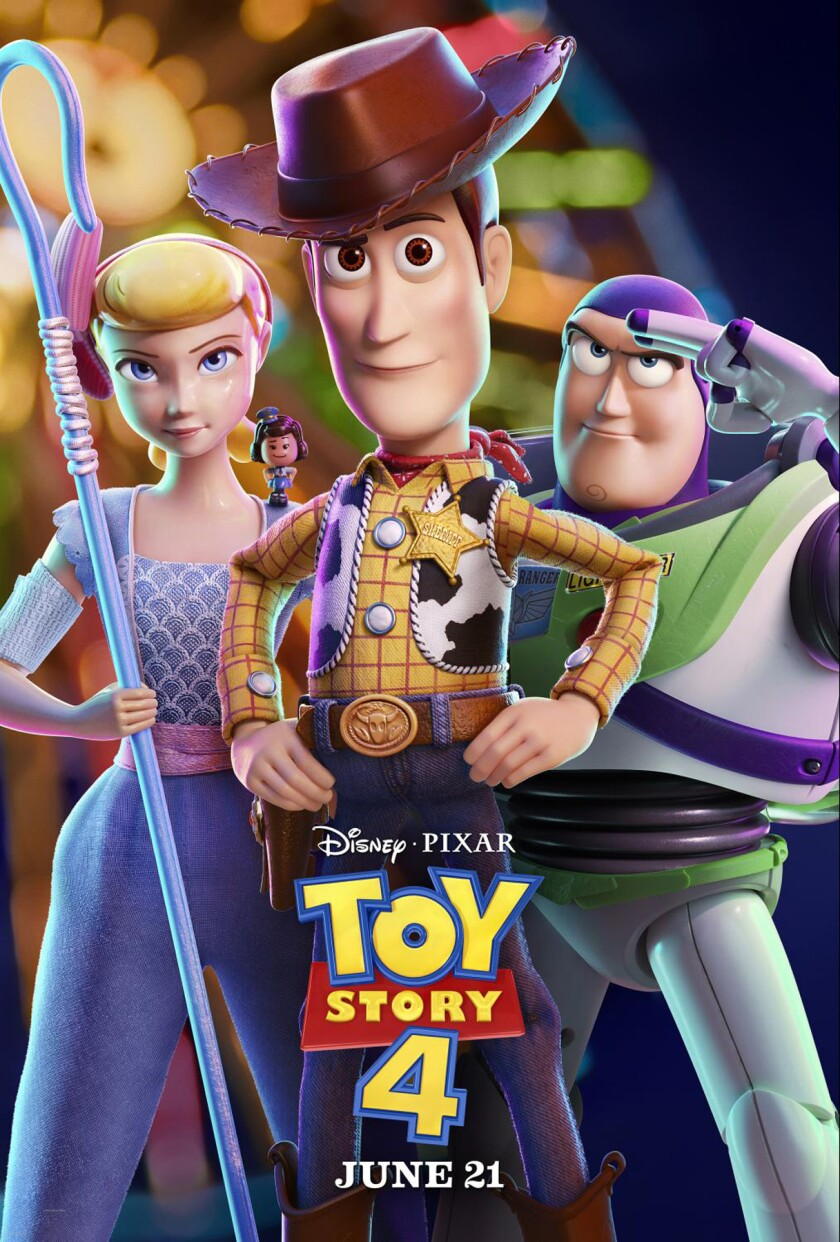 """""""Toy Story 4"""" movie poster"""