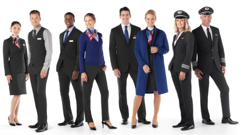 American Airlines' current uniforms, above, are the subject of employee health complaints and a lawsuit.