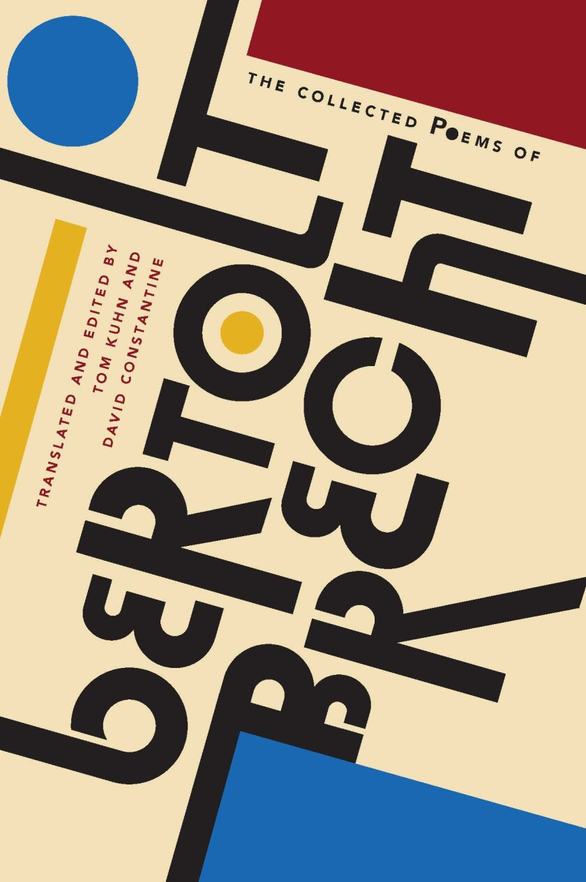 "A book jacket of ""The Collected Poems of Bertolt Brecht."" Credit: Liveright; 1 edition"