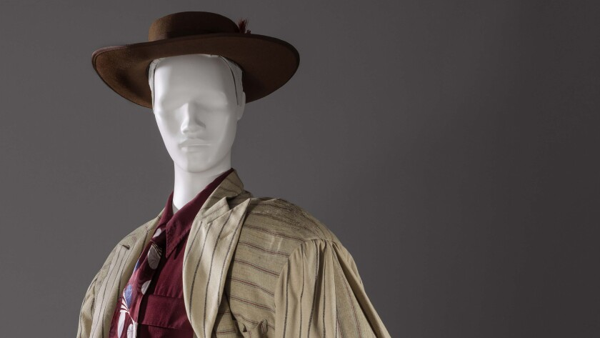 The zoot suit, from 1940-42, recently acquired by the Los Angeles County Museum of Art.