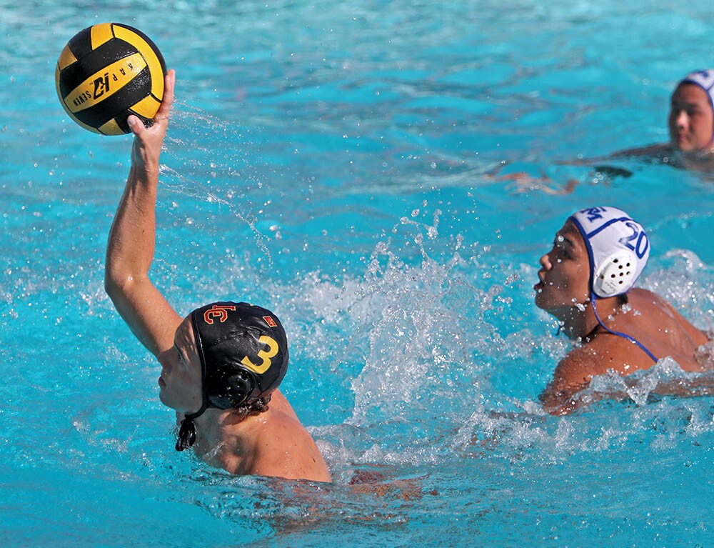 Photo Gallery: La Canada High boys water polo vs. San Marino at home