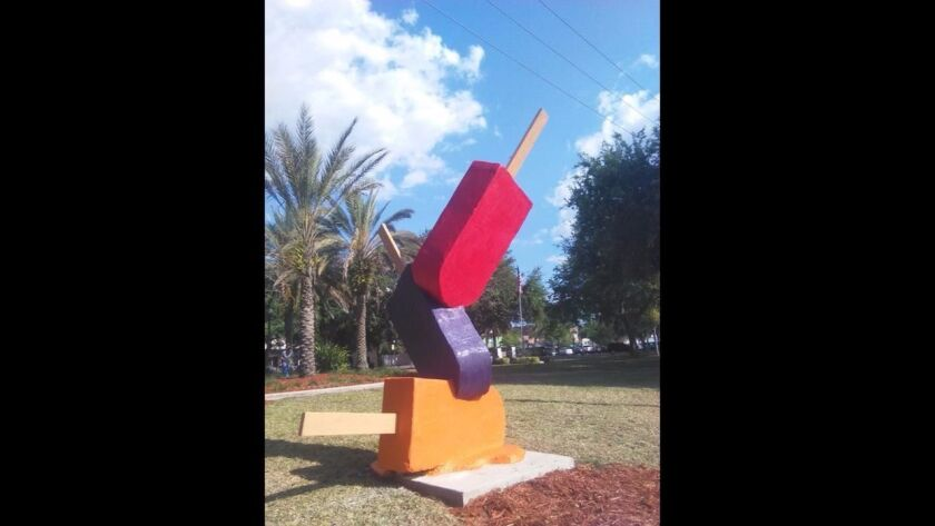 """Popsicles,""by Craig Gray, was popular with the public."