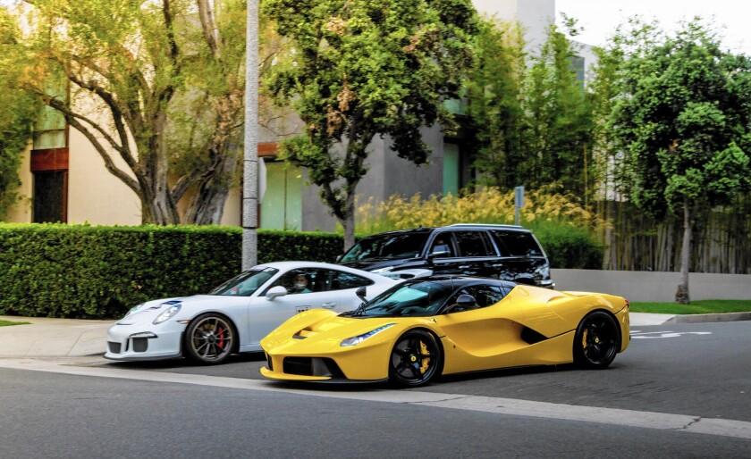 Beverly Hills racing