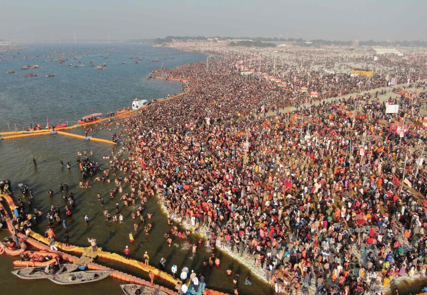INDIA-RELIGION-HINDU-KUMBH-MELA