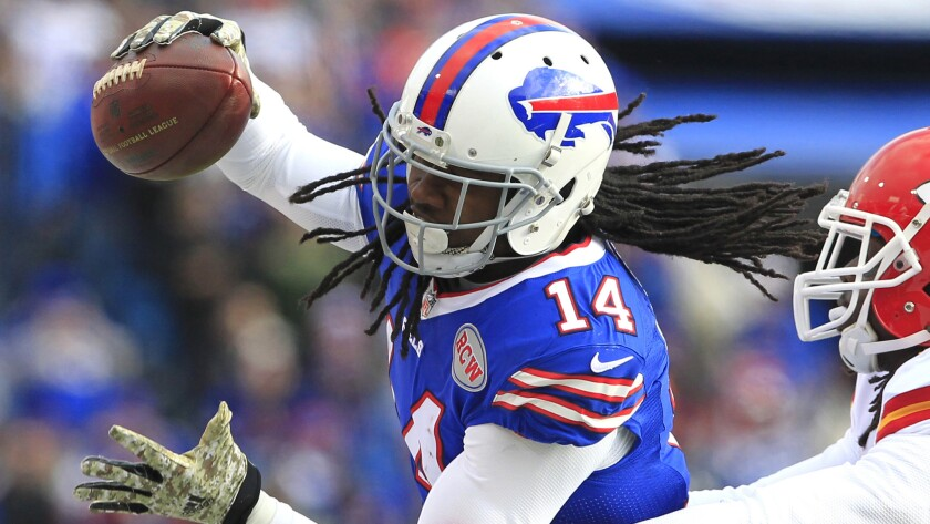 Buffalo Bills wide receiver Sammy Watkins has been placed on the reserved-injured list.