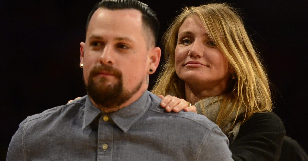 Cameron Diaz Benji Madden Welcome First Child Los Angeles Times