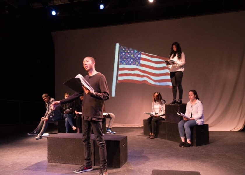 """""""Beyond Prison Walls,"""" a collaboration between Playwrights Project and San Diego State University's theater department, that was canceled this spring due to the pandemic will now be presented online."""